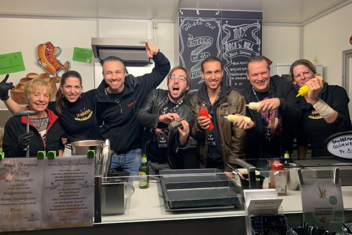 Rock Eat & Roll Bandessen